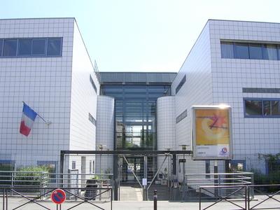 Entrée du lycée Liberté de Romainville